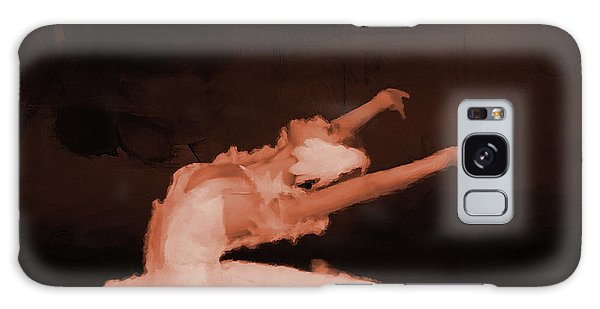 Ballet Dancer In White 01 Galaxy Case