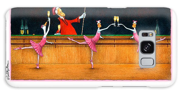 Ballet Up To The Barre... Galaxy Case