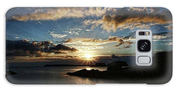 Ballintoy Sunrise Galaxy Case