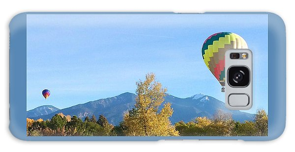 Ballons At Taos Mountain Galaxy Case