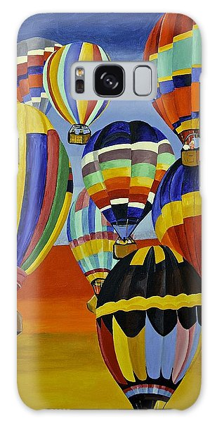 Balloon Expedition Galaxy Case