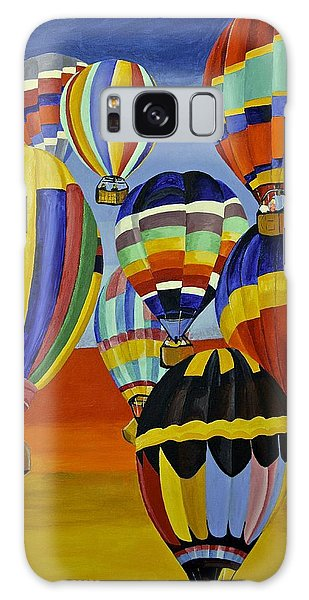 Balloon Expedition Galaxy Case by Donna Blossom