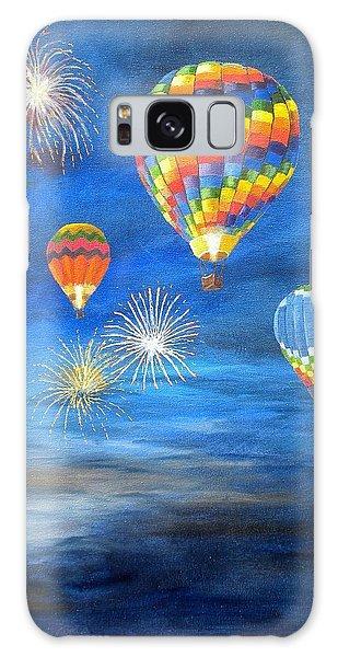 Balloon Glow Galaxy Case by Marti Idlet