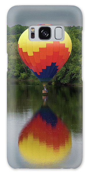 Balloon Reflections Galaxy Case