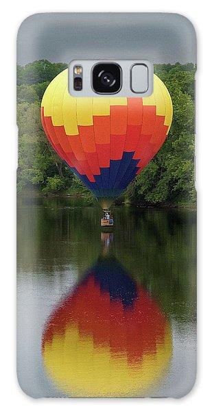 Balloon Reflections Galaxy Case