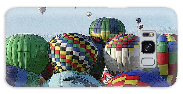 Balloon Traffic Jam Galaxy Case