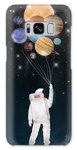 Galaxy Galaxy Case - Balloon Universe by Bri Buckley
