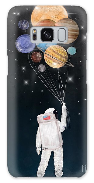 Outer Space Galaxy Case - Balloon Universe by Bri Buckley