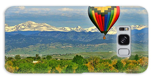 Ballooning Over The Rockies Galaxy Case