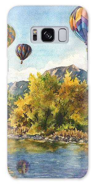 Balloons At Twin Lakes Galaxy Case by Anne Gifford