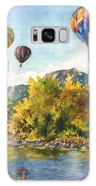 Balloons At Twin Lakes Galaxy Case