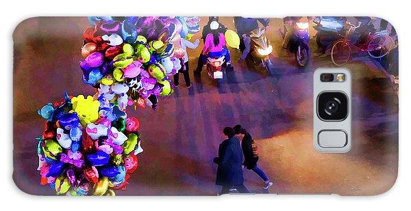 Balloons Hanoi Hoan Kiem Lake  Galaxy Case