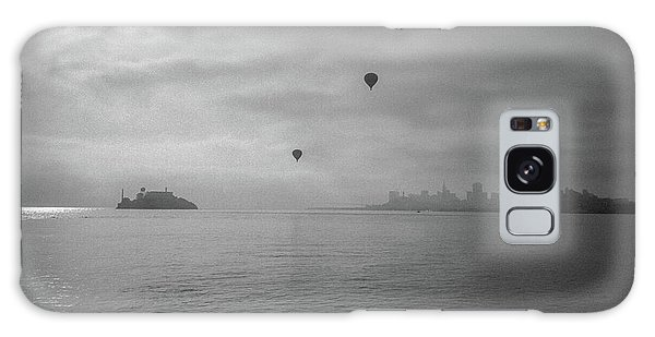 Galaxy Case featuring the photograph Balloons Over San Francisco Bay by Frank DiMarco