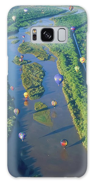 Balloons Over The Rio Grande Galaxy Case