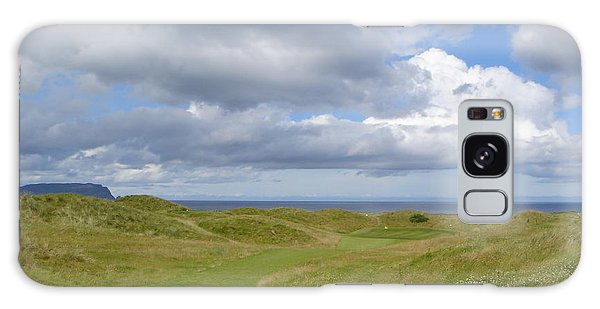 Ballyliffin Ireland Golf 1 Galaxy Case by Jan Daniels