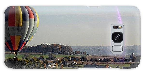 Baloon Ride Galaxy Case by Vilas Malankar