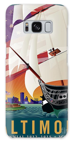 Baltimore - By The Dawns Early Light Galaxy Case