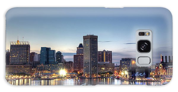 Baltimore Harbor Galaxy Case