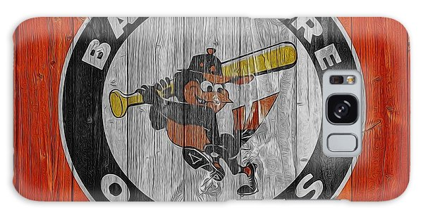 Baltimore Orioles Graphic Barn Door Galaxy Case