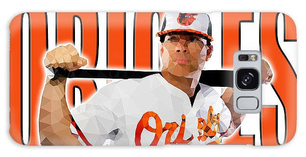 Baltimore Orioles Galaxy Case by Stephen Younts