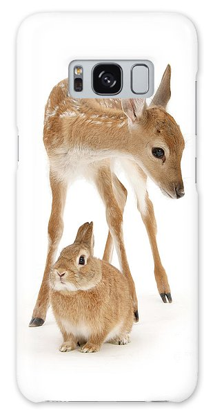 Bambi And Thumper Galaxy Case