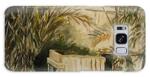 Bamboo And Herb Garden Galaxy Case