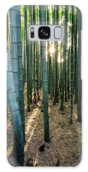 Bamboo Forest At Arashiyama Galaxy Case
