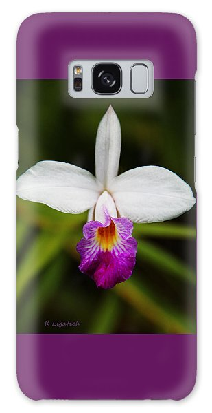 Bamboo Orchid  Galaxy Case