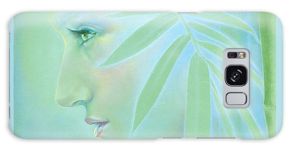 Galaxy Case featuring the painting Bamboo by Ragen Mendenhall