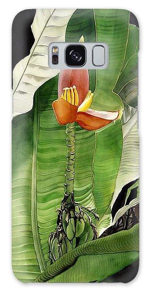 Banana Blossom Galaxy Case