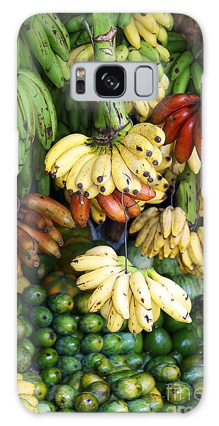 Banana Display. Galaxy Case by Jane Rix