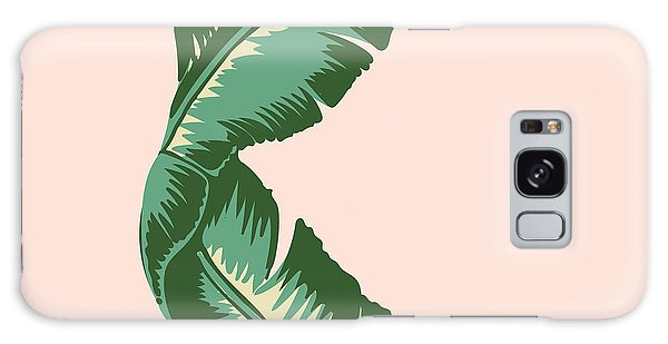 Nature Galaxy Case - Banana Leaf Square Print by Lauren Amelia Hughes