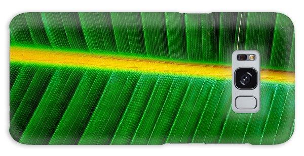 Banana Plant Leaf Galaxy Case