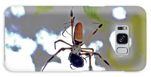 Banana Spider Lunch Time 1 Galaxy Case