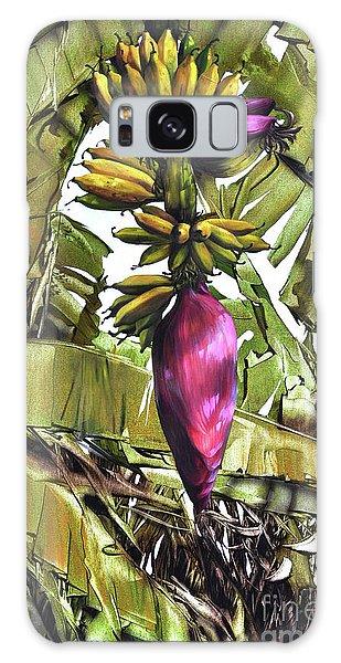 Banana Tree No.2 Galaxy Case