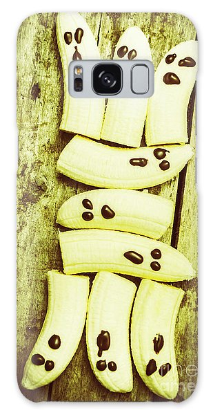 Banana Galaxy S8 Case - Bananas With Painted Chocolate Faces by Jorgo Photography - Wall Art Gallery