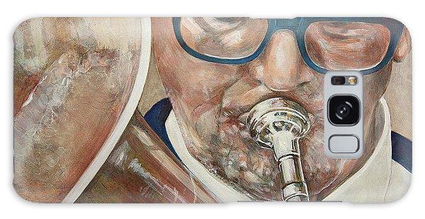 Band Man Galaxy Case by Marty Garland
