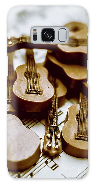 Rock Music Galaxy Case - Band Of Live Acoustic Guitars by Jorgo Photography - Wall Art Gallery