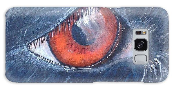 Eye Of The Bandit Galaxy Case by T Fry-Green