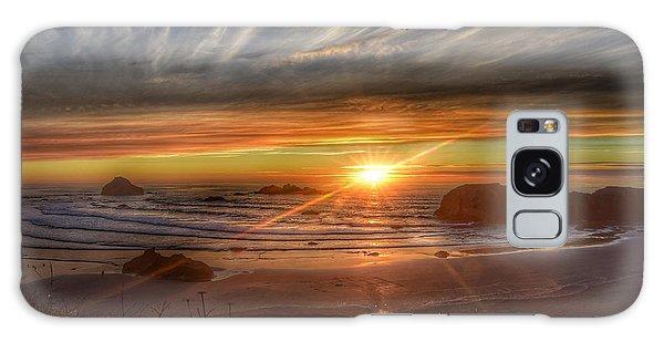 Bandon Sunset Galaxy Case by Bonnie Bruno