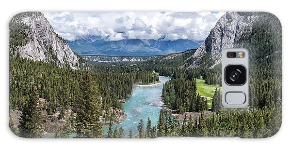Banff - Golf Course Galaxy Case