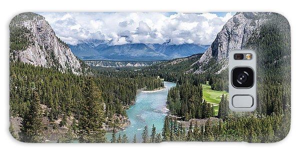 Banff - Golf Course Galaxy Case
