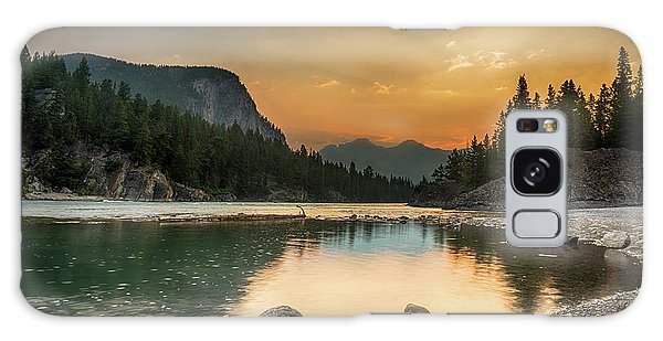 Banff Sunrise Galaxy Case