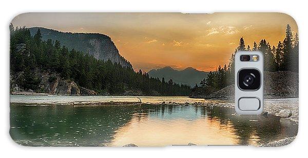 Banff Sunrise Galaxy Case