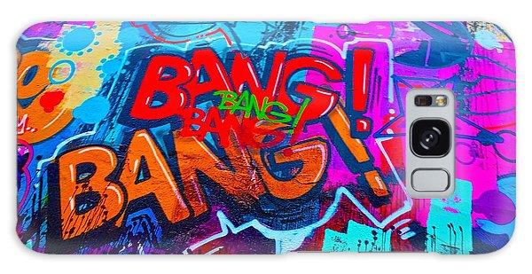 Bang Graffiti Nyc 2014 Galaxy Case