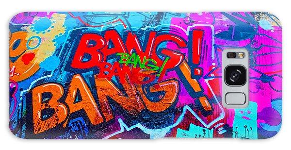 Bang Graffiti Nyc 2014 Galaxy Case by Joan Reese