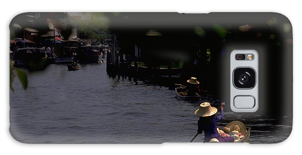 Bangkok Floating Market Galaxy Case by Travel Pics