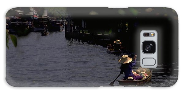 Bangkok Floating Market Galaxy Case