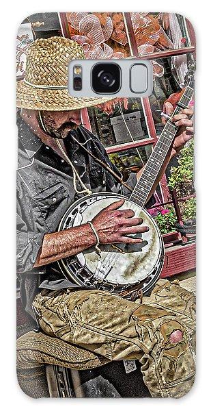 Banjo Man Orange Galaxy Case by Jim Thompson