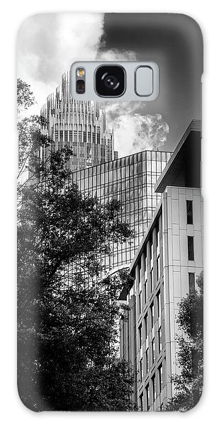 Bank Of America Of Charlotte In Black And White Galaxy Case